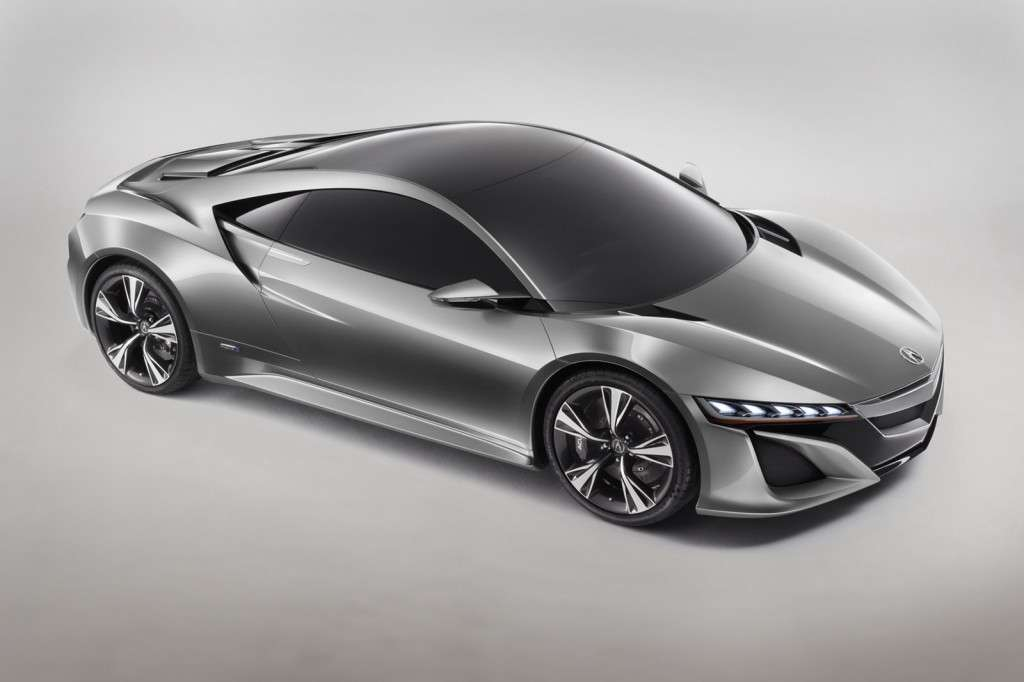 Acura NSX Concept, frontale