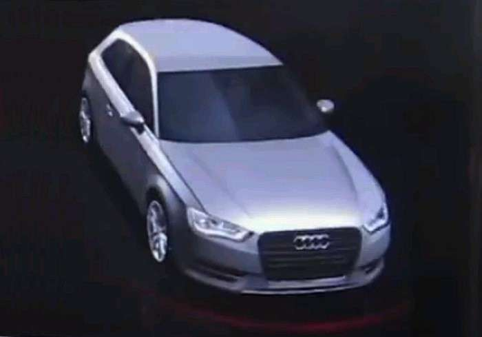 Audi A3 2012, frontale