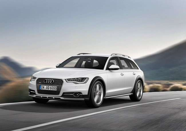 Audi A6 Allroad, frontale