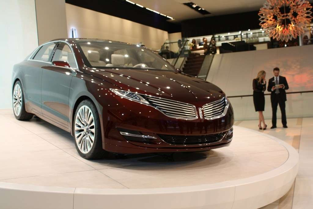 Lincoln MKZ Concept, frontale