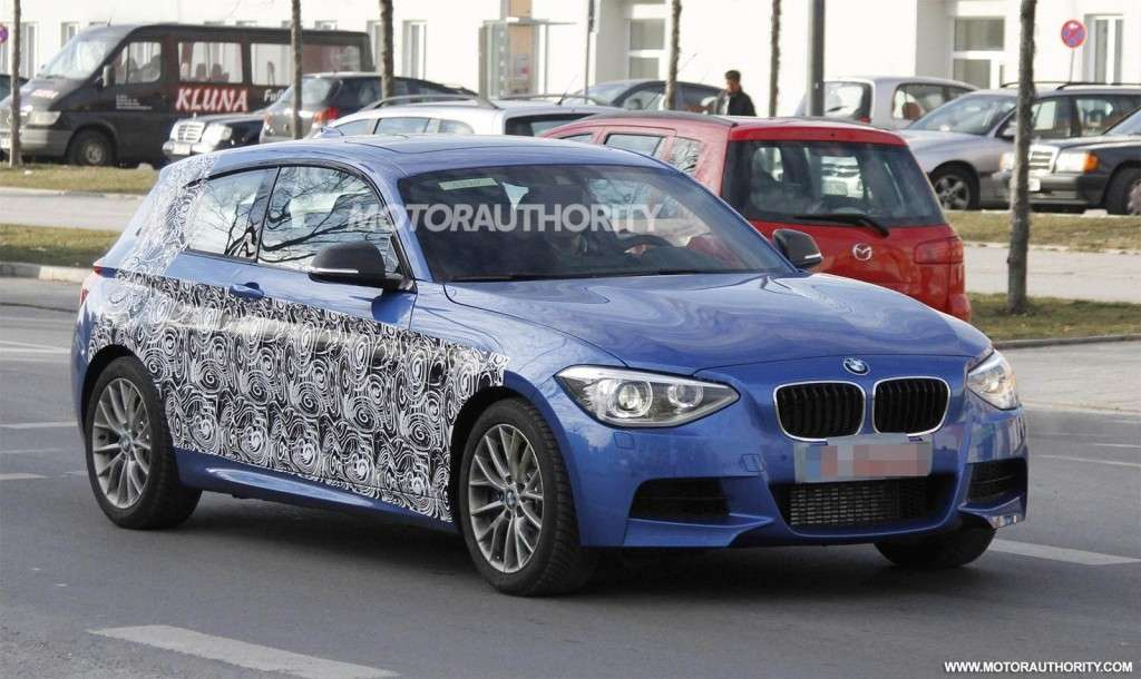 BMW Serie 1 M, frontale
