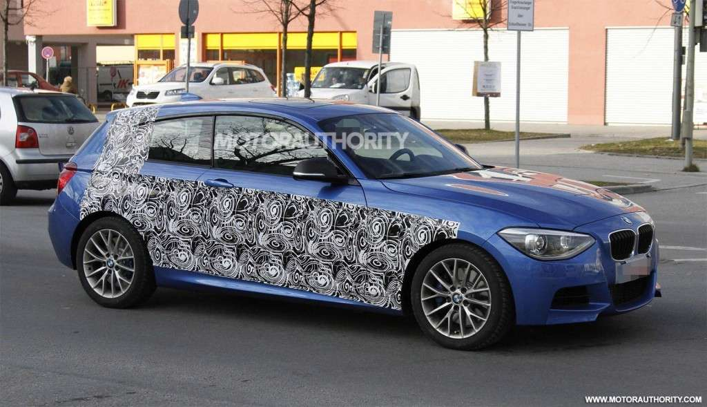 BMW Serie 1 M, laterale