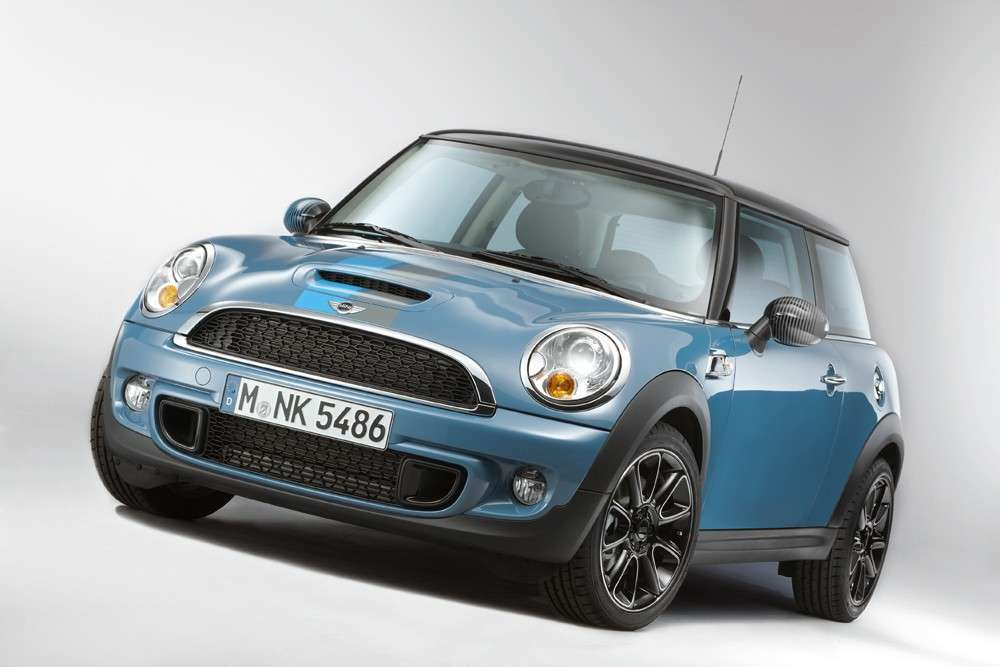 Mini Cooper S Bayswater, frontale
