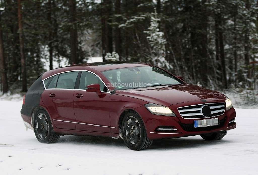 Mercedes CLS Shooting Brake, frontale
