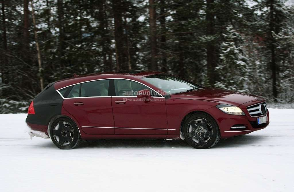 Mercedes CLS Shooting Brake, laterale