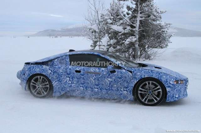 BMW i8, laterale