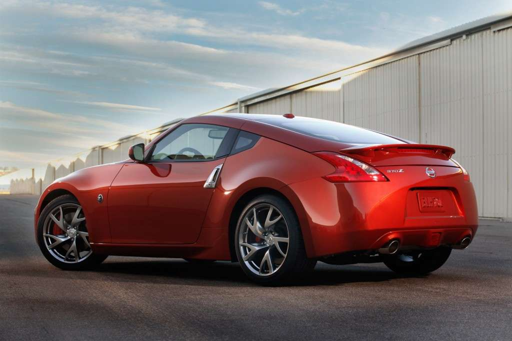 Nissan 370Z restyling, posteriore