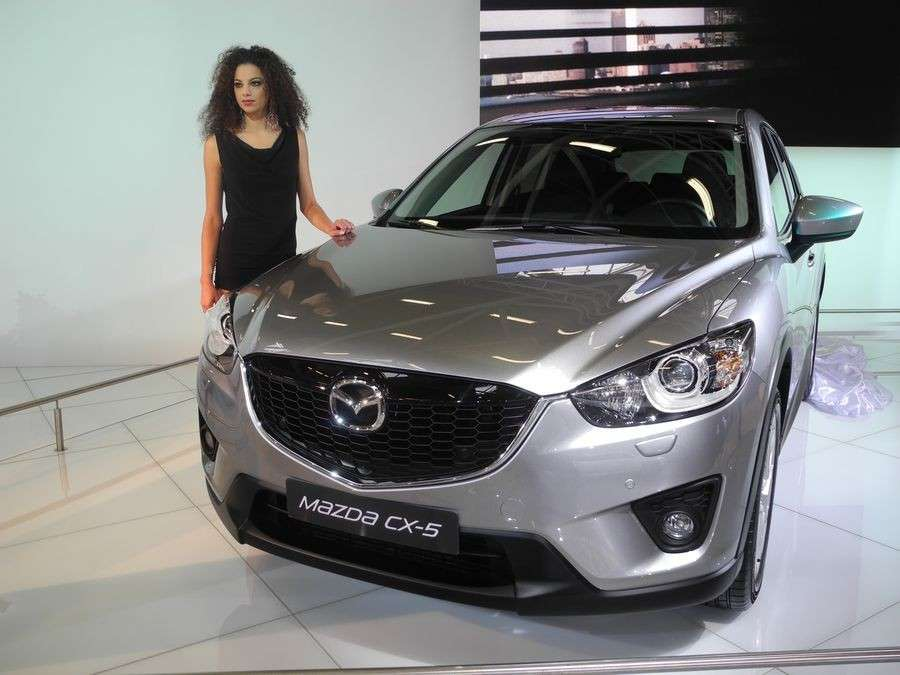 Mazda CX-5, frontale Motor Show