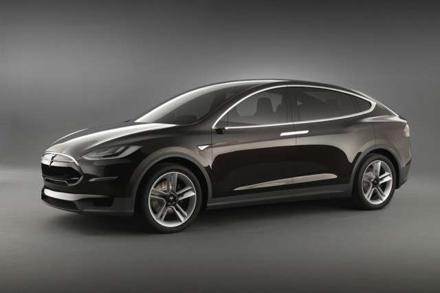 Tesla Model X Concept, laterale