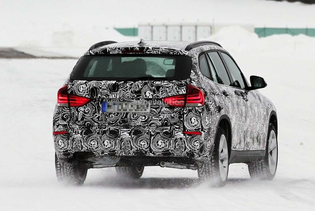 BMW X1 MY 2013, posteriore