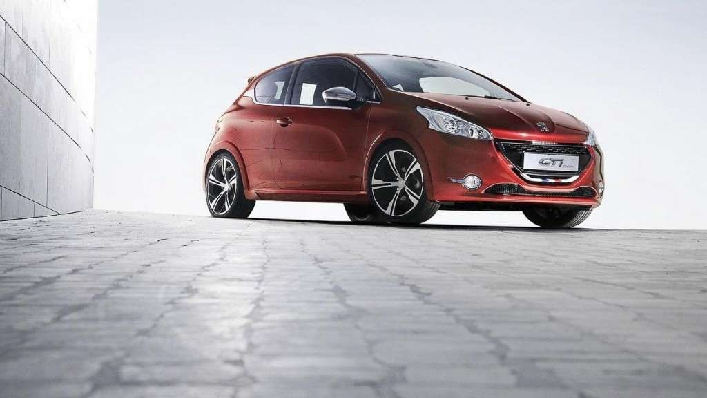Peugeot 208 GTI Concept, frontale