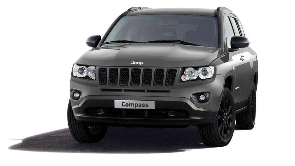 Jeep Compass production-intent sports, frontale