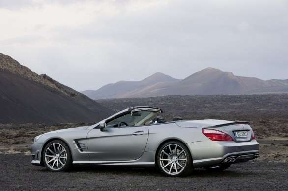 Mercedes SL 63 AMG, laterale