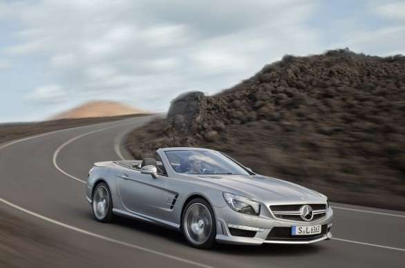 Mercedes SL 63 AMG, frontale