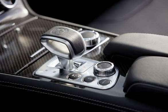 Mercedes SL 63 AMG, console centrale
