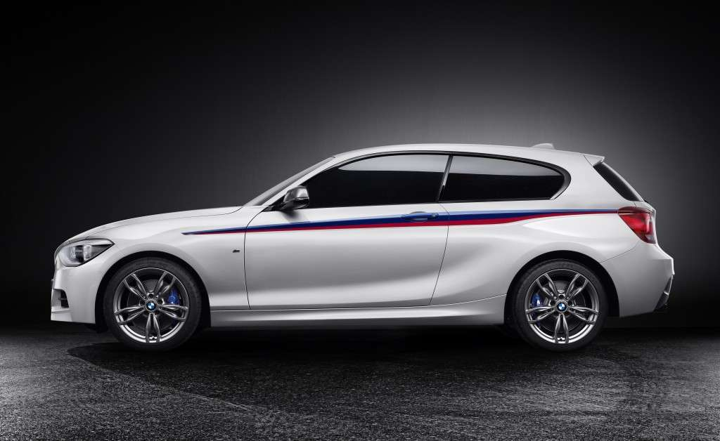 BMW M135 Concept, laterale