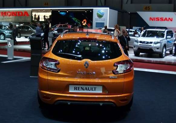 Posteriore della Renault Megane restyling