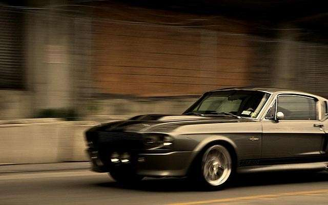 Mustang Shelby GT500 'Eleanor', frontale