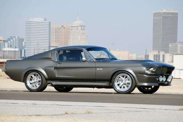 Mustang Shelby GT500 'Eleanor', laterale