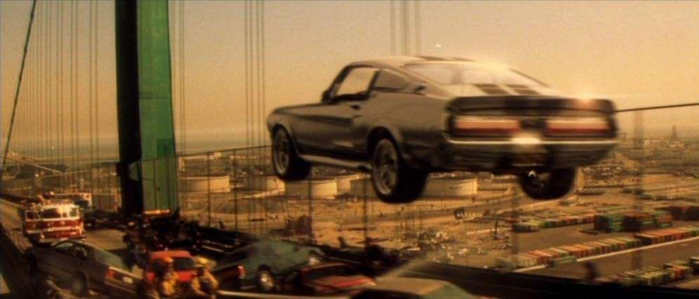 Mustang Shelby GT500 'Eleanor', il salto