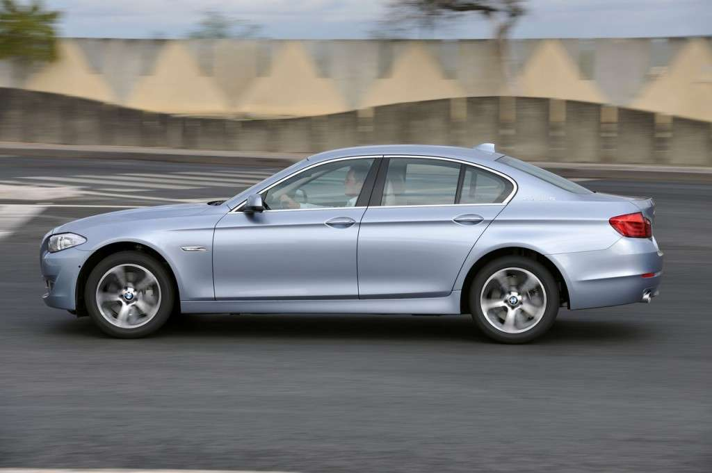 BMW ActiveHybrid 5 laterale