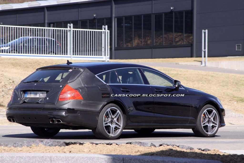 Mercedes CLS 63 AMG Shooting Brake posteriore