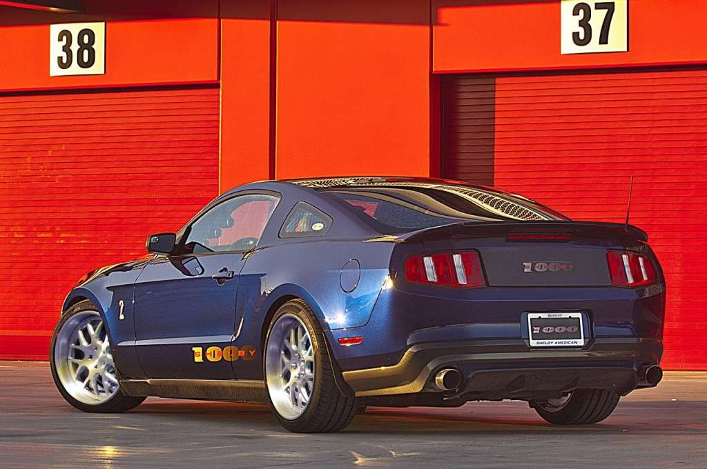 Ford Mustang Shelby 1000, posteriore