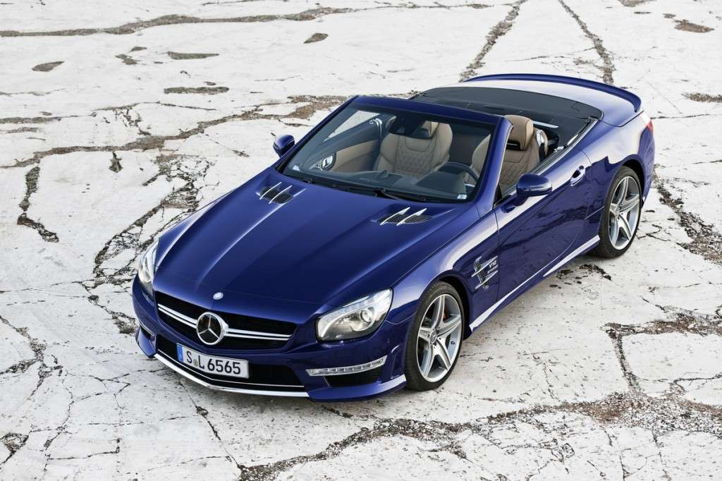 Mercedes SL 65 AMG frontale