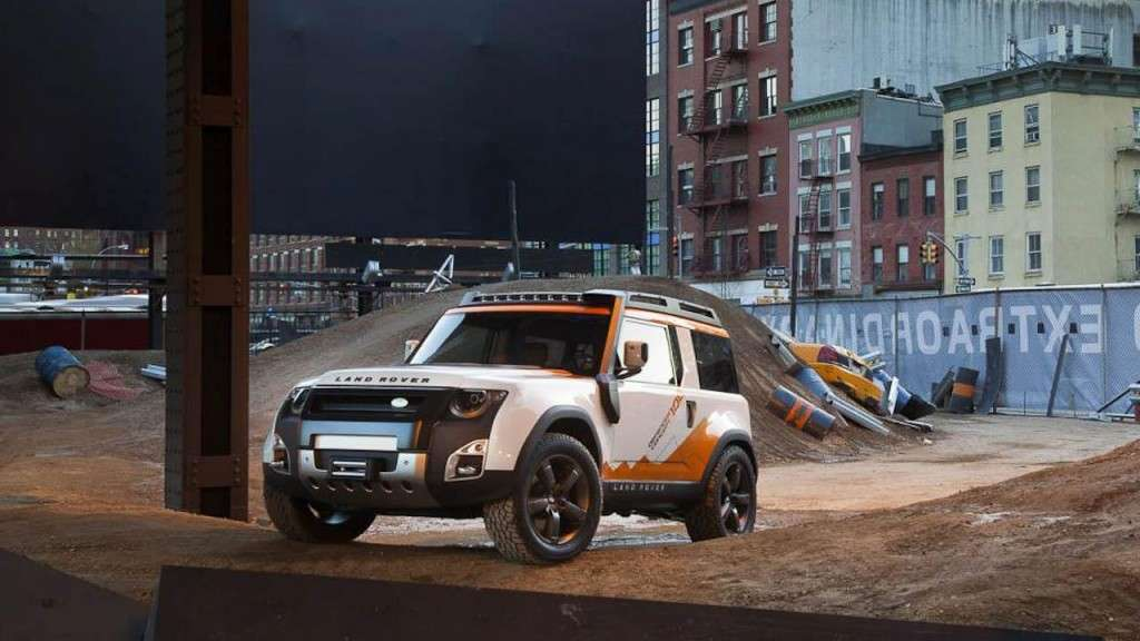 Land Rover DC100 Expedition - frontale