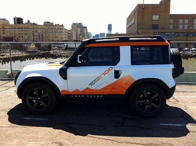 Land Rover DC100 Expedition - laterale (5)