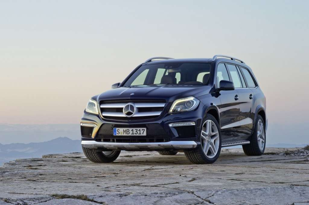 Mercedes-Benz GL 2012 frontale