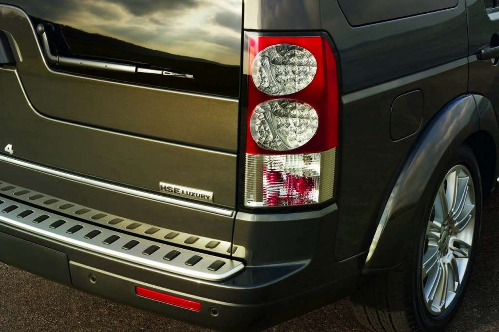 Land Rover Discovery Limited Edition posteriore