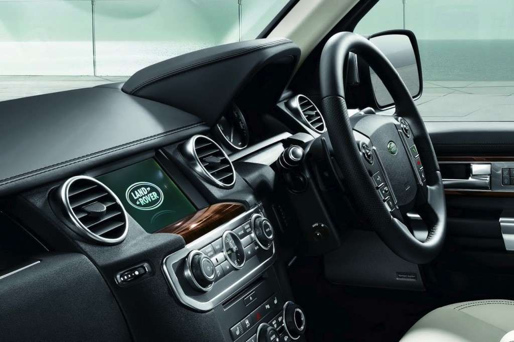 Land Rover Discovery Limited Edition plancia