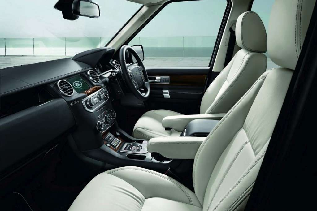 Land Rover Discovery Limited Edition interni
