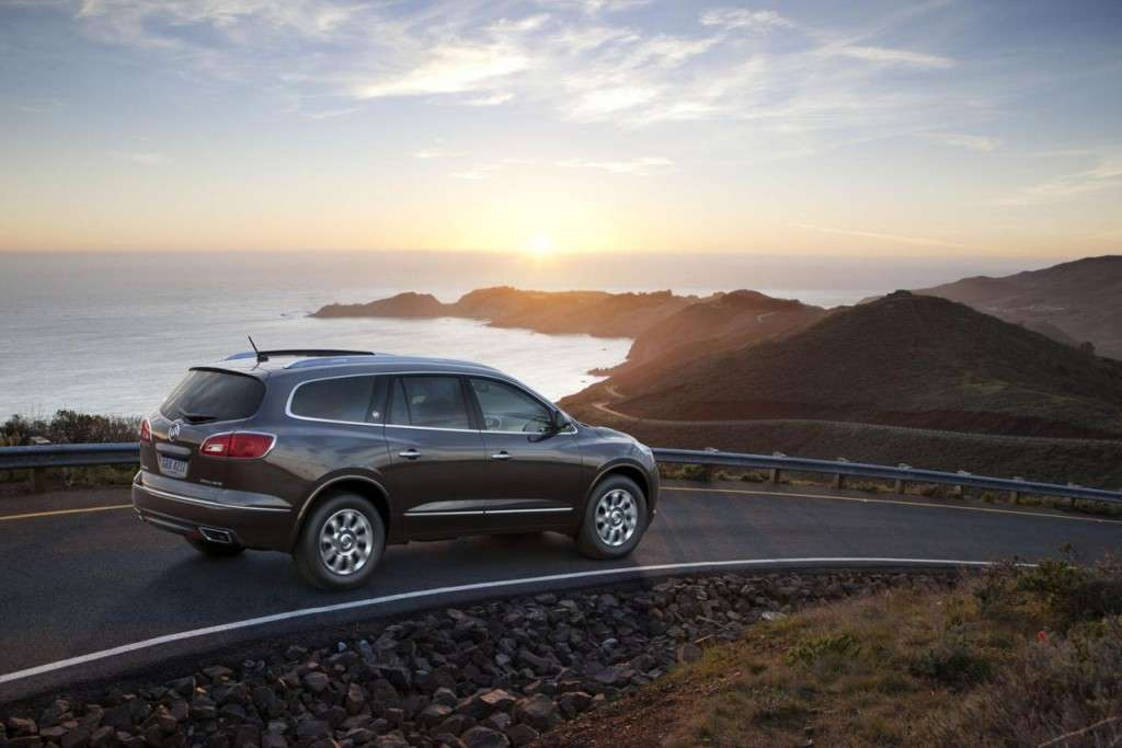 Buick Enclave 2013 posteriore