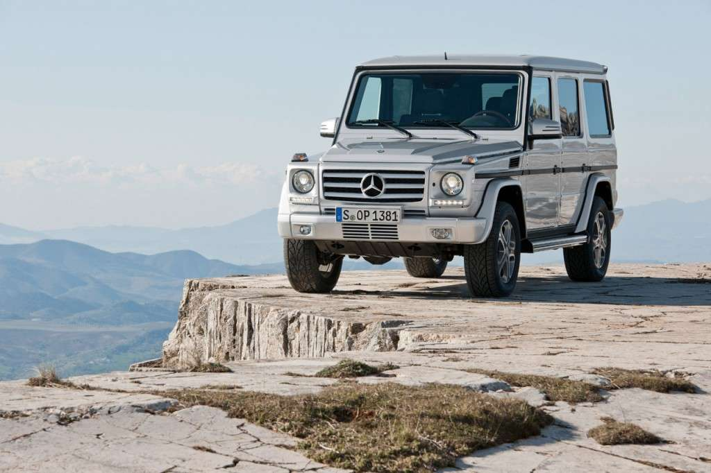 Mercedes Classe G 2012 frontale
