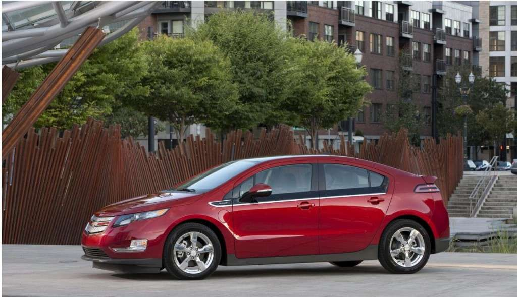 Chevrolet Volt - laterale