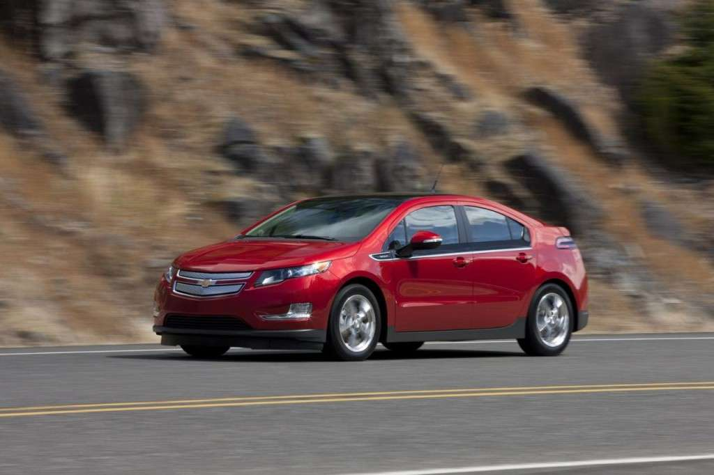 Chevrolet Volt - laterale (2)
