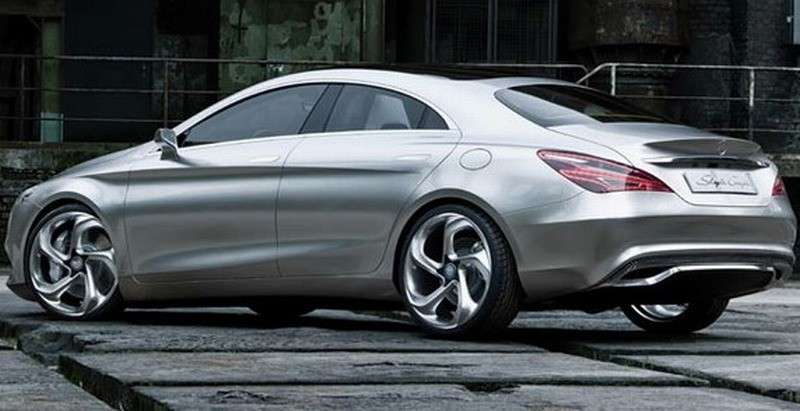 Mercedes Concept Style Coupe - laterale