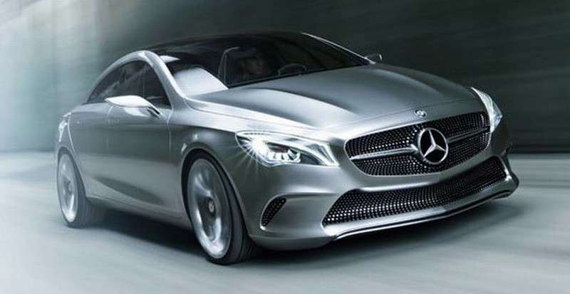 Mercedes Concept Style Coupe - frontale (3)