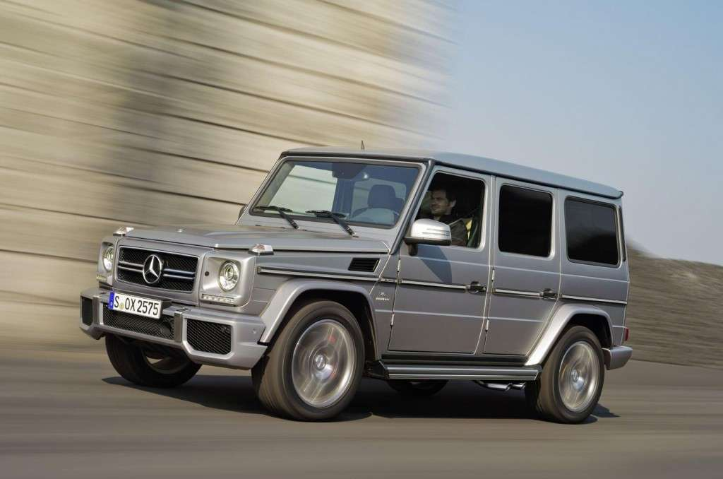 Mercedes G63 AMG 2012 vista laterale