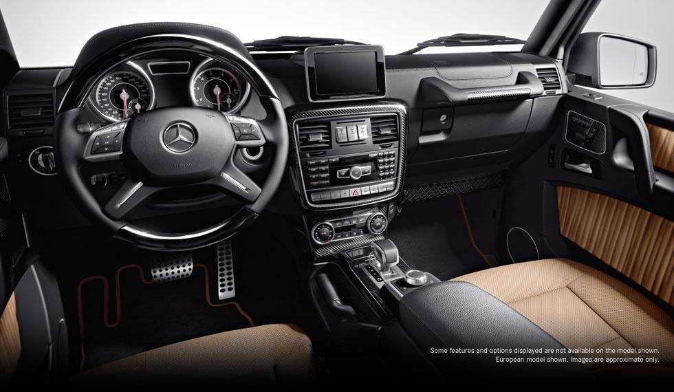 Mercedes G63 AMG 2012 interni