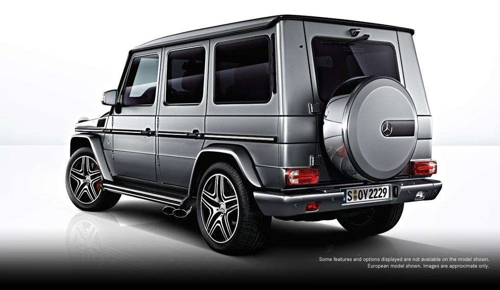 Mercedes G63 AMG 2012 posteriore