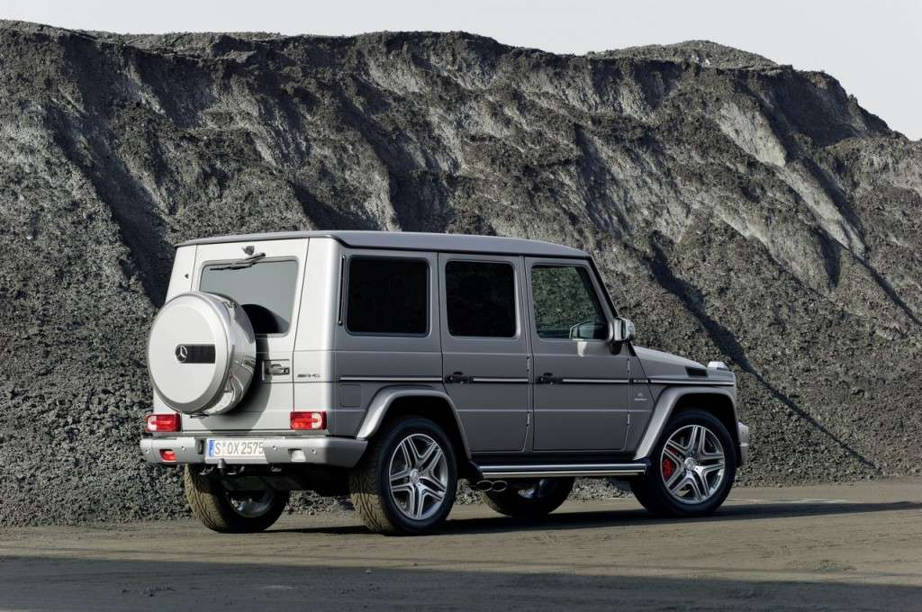 Mercedes G63 AMG 2012 posteriore (2)