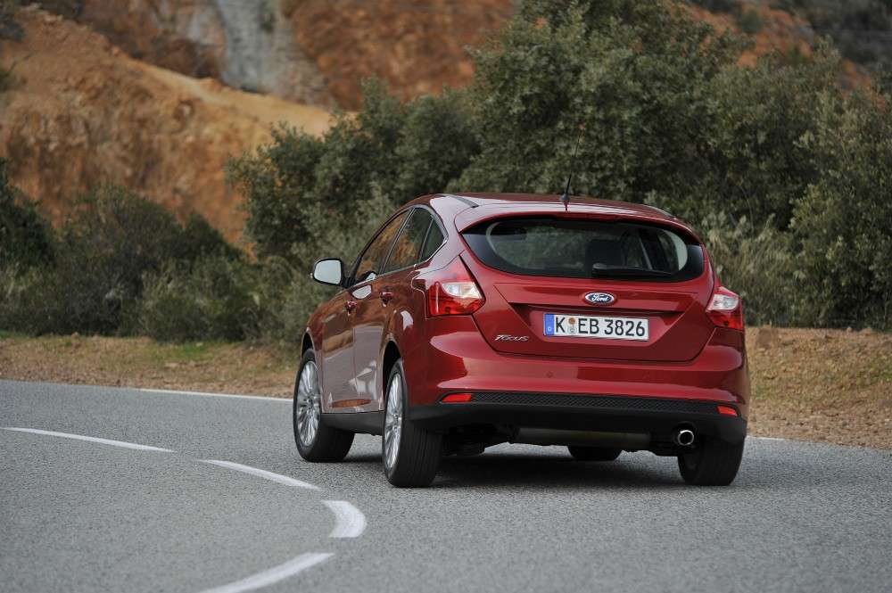 Ford Focus ECOnetic, foto su strada