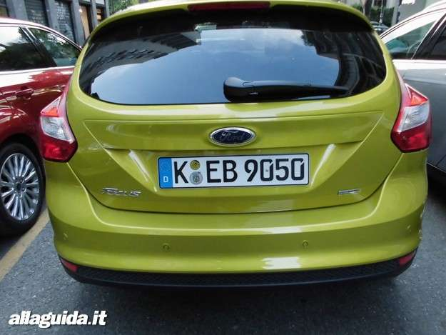 Ford Focus ECOnetic, vista posteriore
