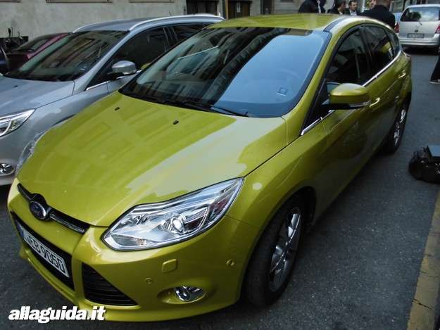 Ford Focus ECOnetic, vista laterale