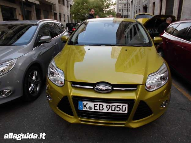 Ford Focus ECOnetic, vista frontale (2)