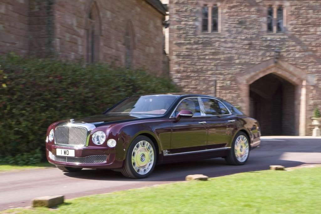 Bentley Mulsanne Diamond Jubilee Edition anteriore