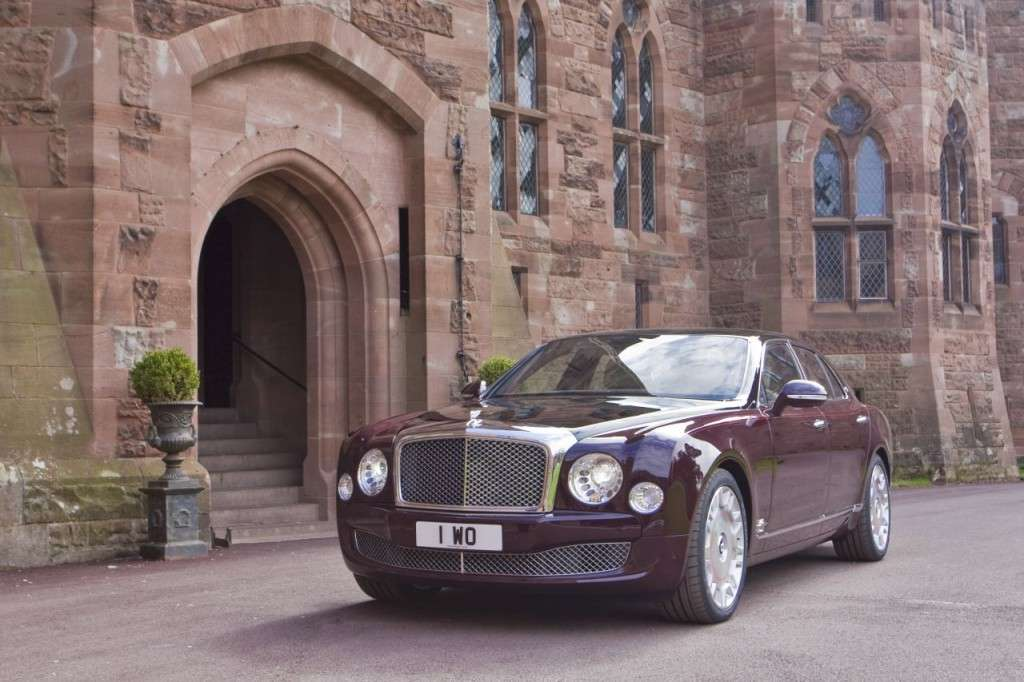 Bentley Mulsanne Diamond Jubilee Edition frontale